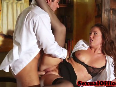 Maddy O Reilly fucked by her boss