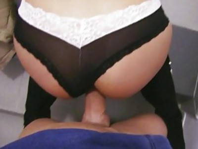 Anna Rose with glasses fucked for cash