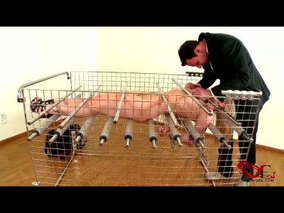 Frisky girl experiences sinister spanking