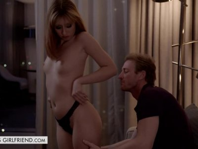Daphne Dare Gets Leashed And Fucked By Her Client