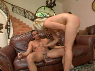 Sindy Lange demonstrates her skills in dick riding