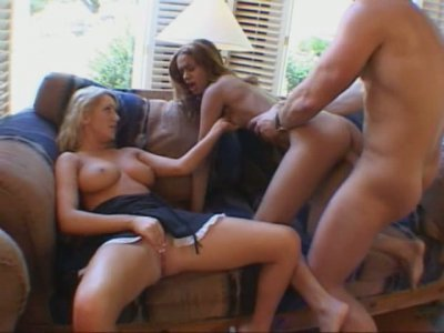 Sexy babe Jessica Sweet and slim girl fucking one dude